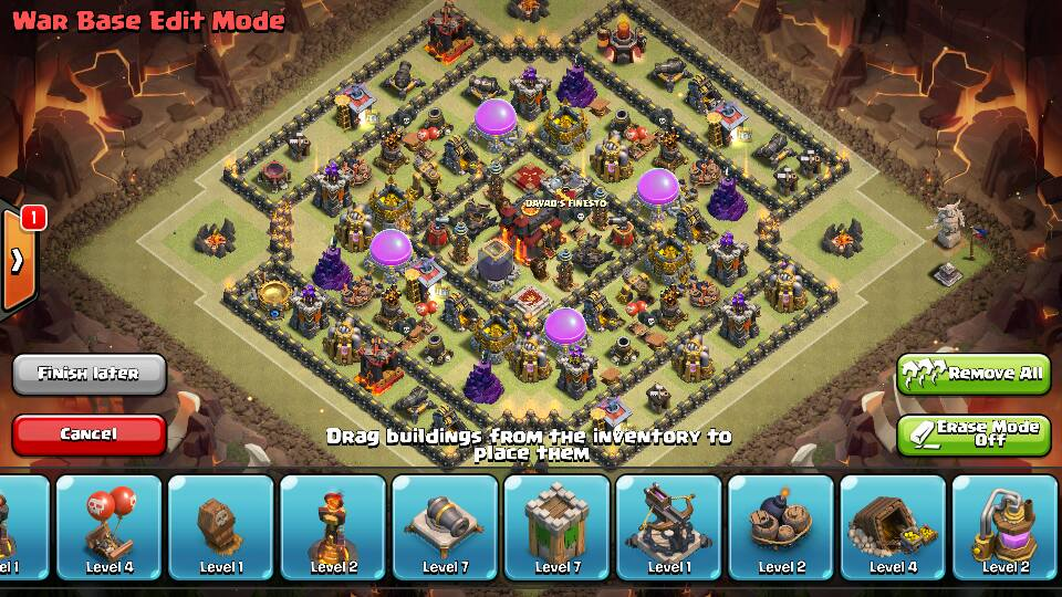 best clash of clans layout