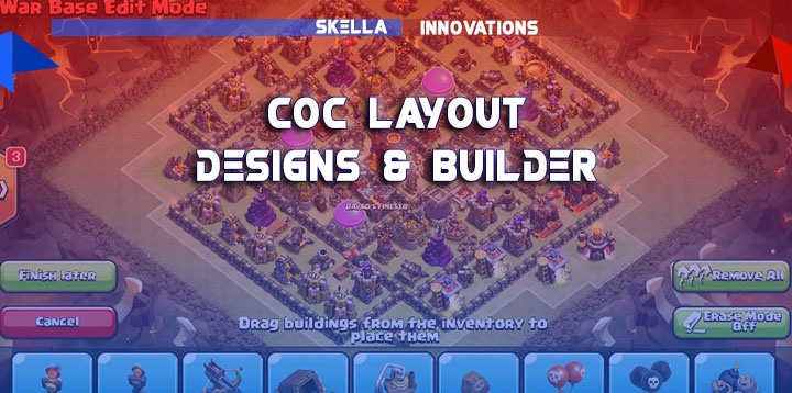 Best Builder and Layout Designs for Clash of Clans War Defense