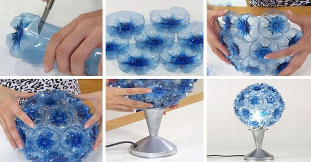 Lamp Plastic Bottles
