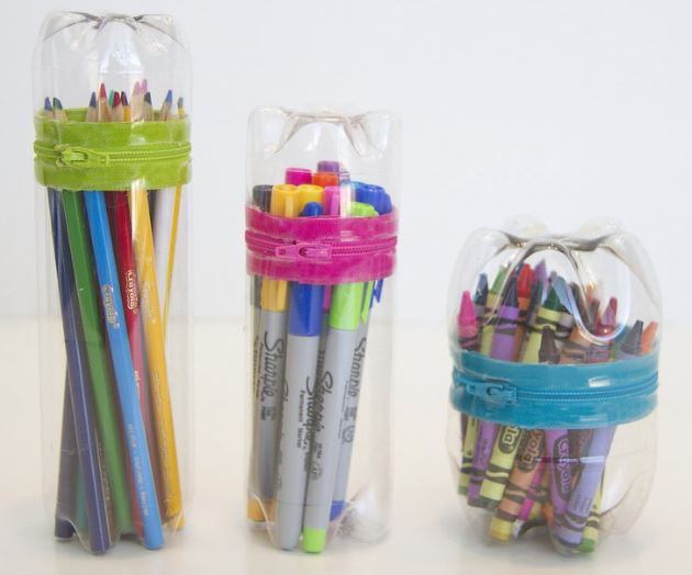 Pencil, Crayons or Markers Zipped Case