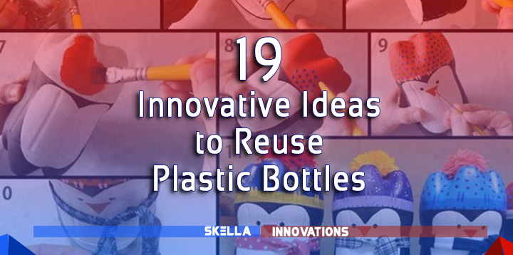 19 Innovative Ways to Reuse Plastic Bottles, Caps and Spoons
